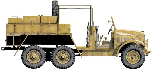 Morris Commercial CDSW 15cwt 6x4 (1942)