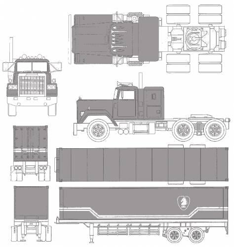 Night Rider Trailer + Truck