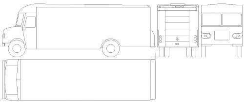 P1000 UPS Truck