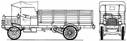 Packard 3ton GS (1917)