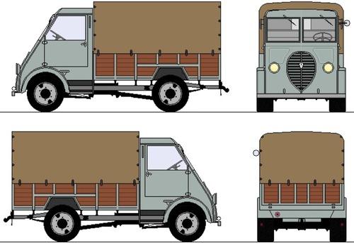 Peugeot DMA 2-ton Light Truck (1940)