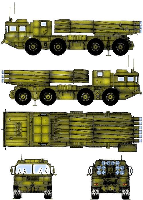 PHL03 MLRS MAZ-7310