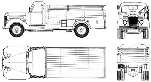 Praga RND 3ton 4x2 (1950)