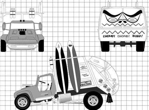 Tom Daniel - Garbage Truck
