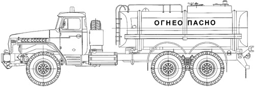 Ural-4320-10 ATZ-10-4320