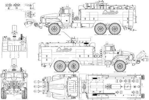 Ural-4320-30 YaMZ-238M2