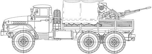 Ural-4320-31 & ZU-23-2