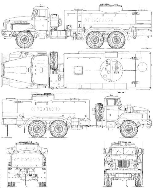 Ural-4320-60M ATZ-10