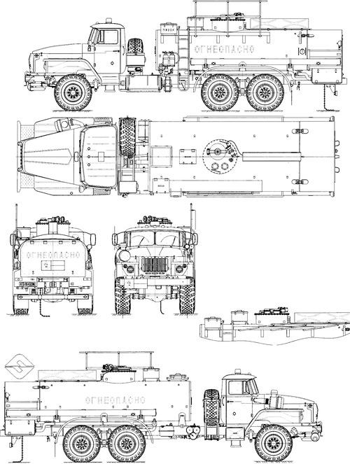Ural-4320-60M ATZ-10-4320