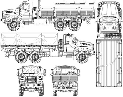 Ural 4320-6951-74 Next (2017)