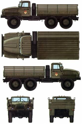Ural 4320 6x6