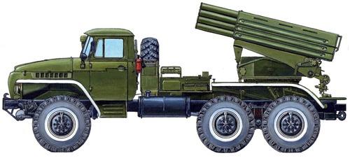 Ural 4320 BM-21 Grad