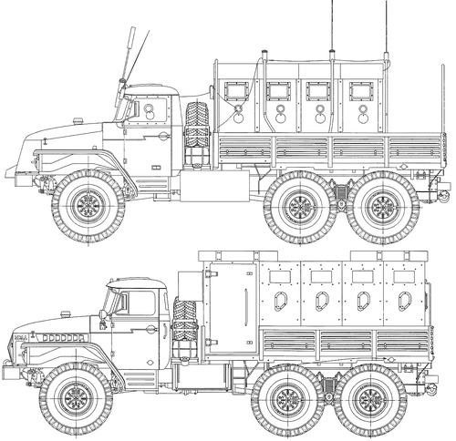 Ural-4320 MVD RF