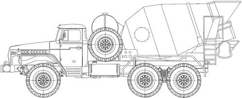 Ural-4320 SB-92B