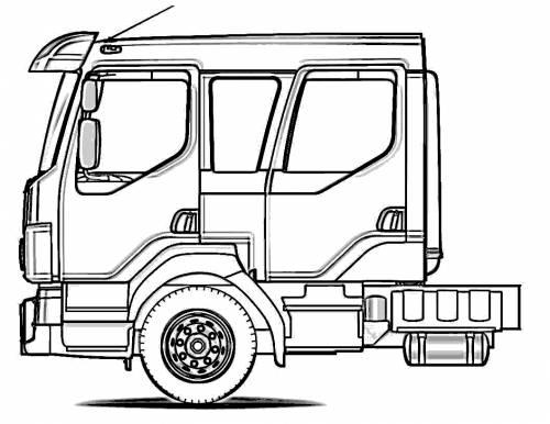 Volvo Crew Cab Truck
