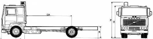 Volvo F12 4x2 Truck (1977)
