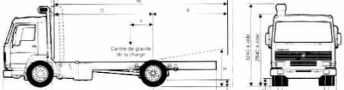 Volvo FL7F 4x2 Chassis Truck (1988)