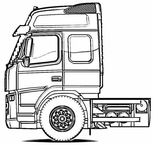 Volvo Globetrotter Truck