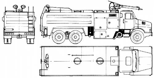 Volvo M12 6x4 Fire Truck (1986)