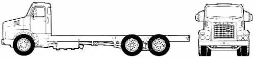Volvo N12 6x2 Truck (1977)