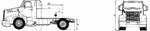 Volvo NL12 4x2 Tractor 20.5ton Truck (1989)