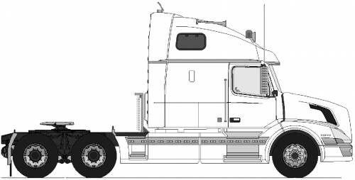 Volvo VN 770  6x4 tractor unit