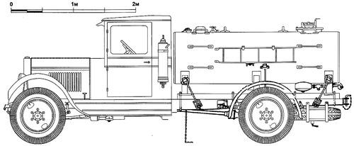 ZiS-5 Fire Truck