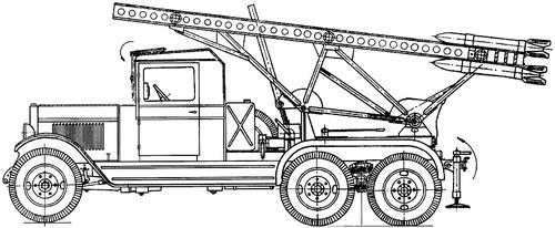 ZiS-6 BM-13-18 Katyusha
