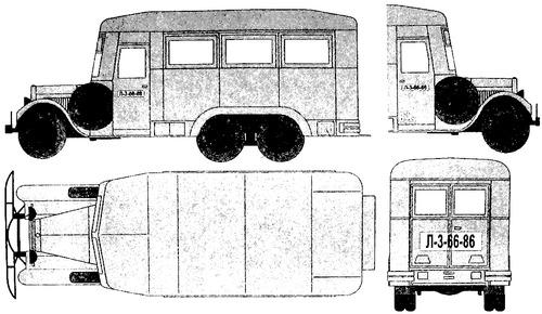ZIS-6 PARM-1 Field Repair Truck