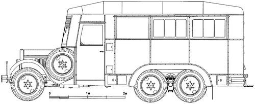 ZiS-6 PARM Aircraft Field Repair Truck