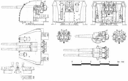 102mm-45cal Mk.XVI