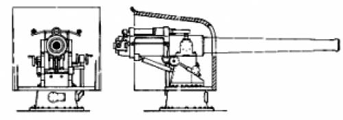 102mm (4inch) Naval Gun