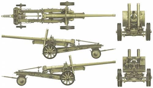 122mm M1931-1937 Howitzer