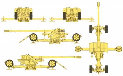 12.8cm Pak44 Krupp