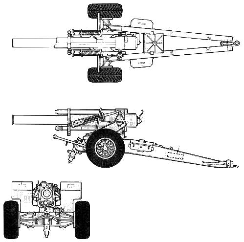 155mm M1-A2 Howitzer