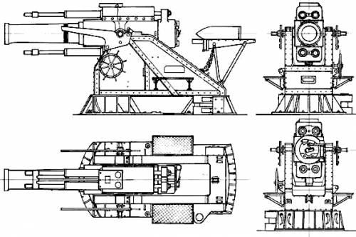 15 inch BL Siege Howitzer (1915)