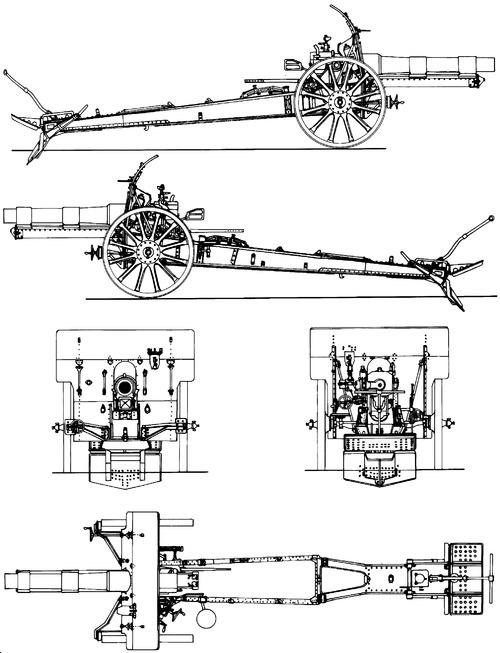 15cm.Slg. s.F.H.13 Krupp L17