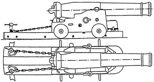 1.5pdr 1818 Naval Gun