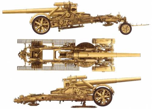 21cm Howitzer Brummbar