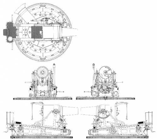 28cm Howitzer IJA
