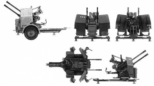 2cm Flak-Vierling 38