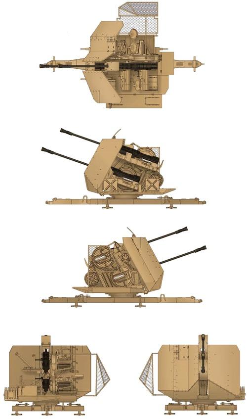 3.7cm Flak 43 Zwilling