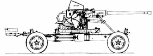 40mm Bofors AA Gun