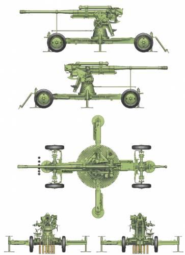52-K 85mm M AA Gun (1939)