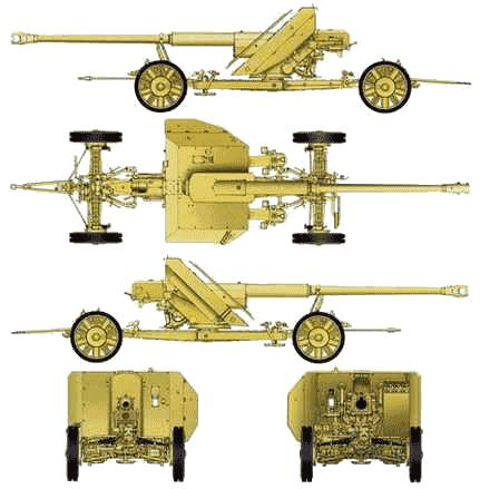 8.8cm PaK43 Panzerjagerkanone