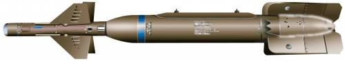 GBU-24 Paveway III Laser guided Bomb