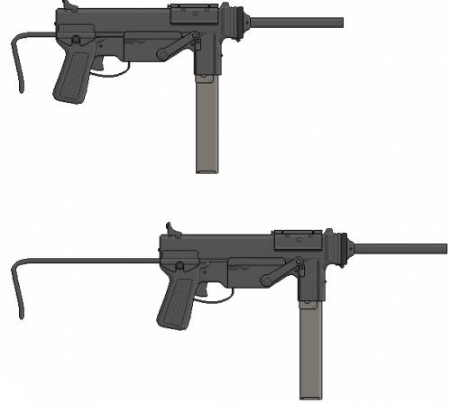 M3 Sub machine Gun