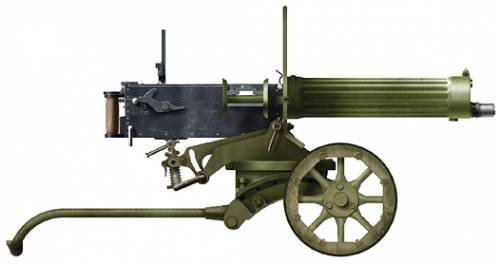 PM M1910 Maxim Machine Gun