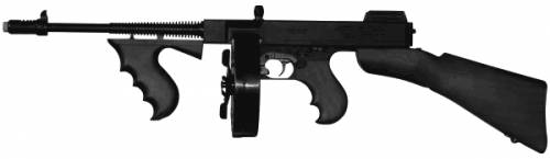 Thompson SMG Tommy-Gun SMG Chicago (1928)