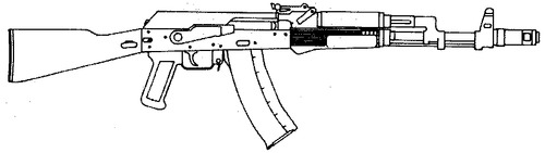 AK-74M Kalashnikov